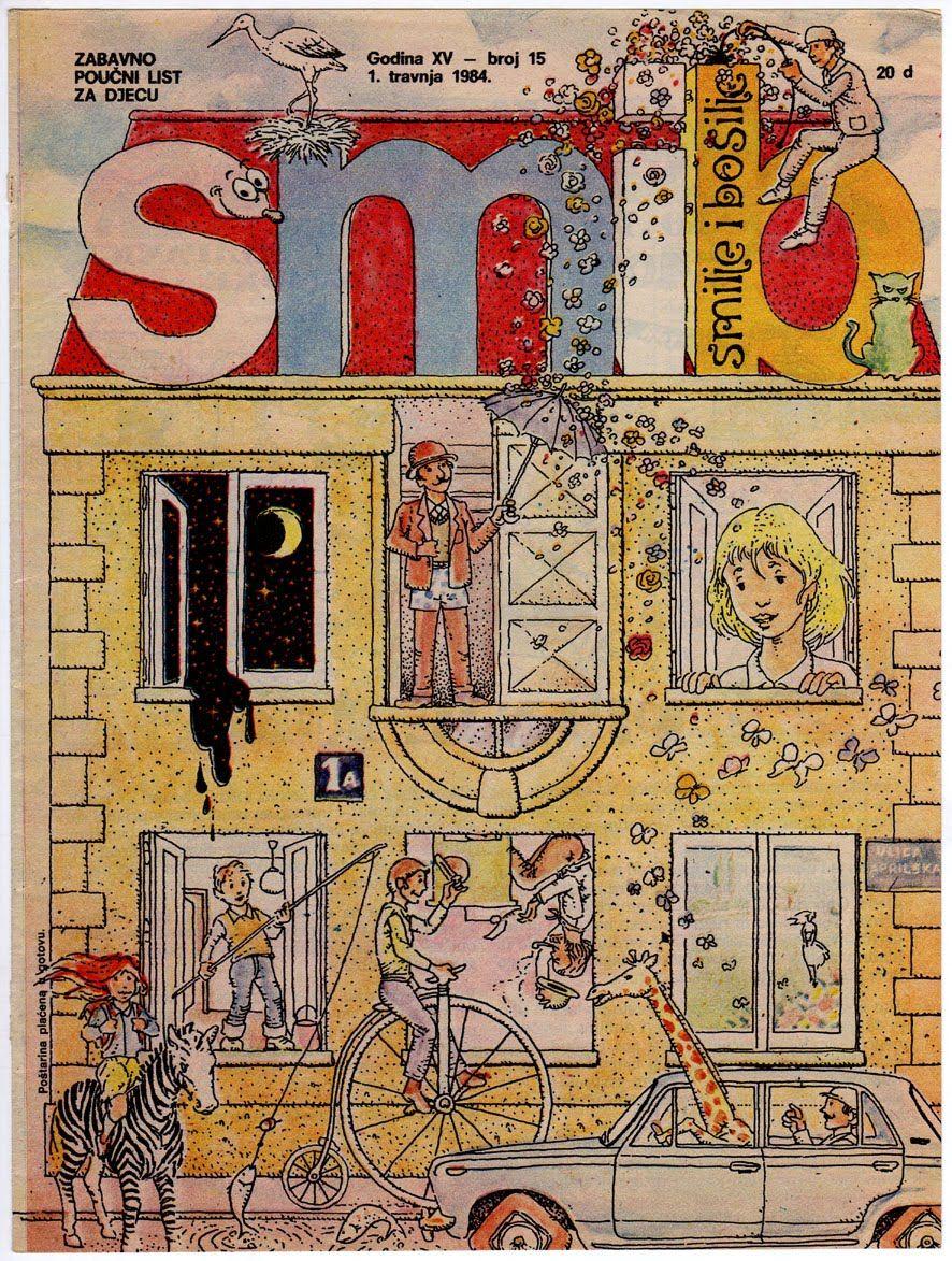 SMIB - 1980-tih - časopis za djecu