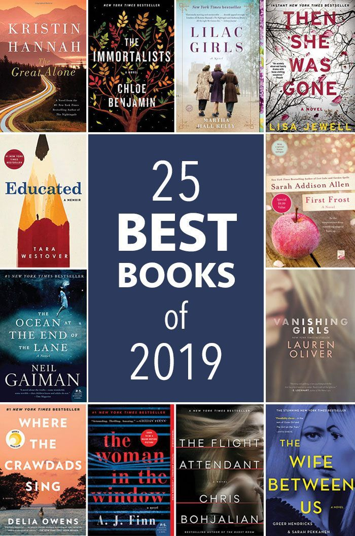 25 Best Books to Read in 2019 - Five Spot Green Living #bookstoread