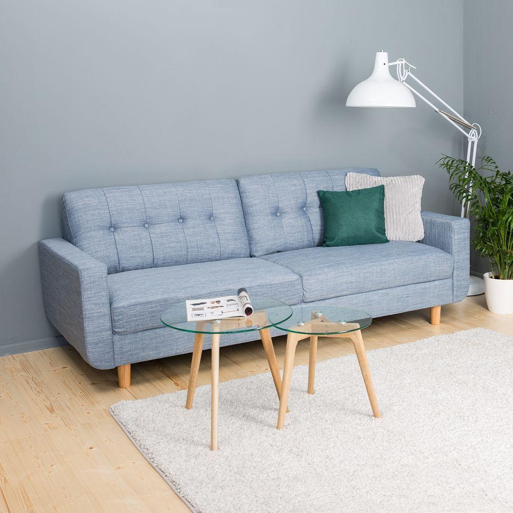 Sofa Portland Will Bring Some Light Blue Vibes In Your Living Room Jysk Livingroom Sofa Lightblue Living Room Room Home Decor