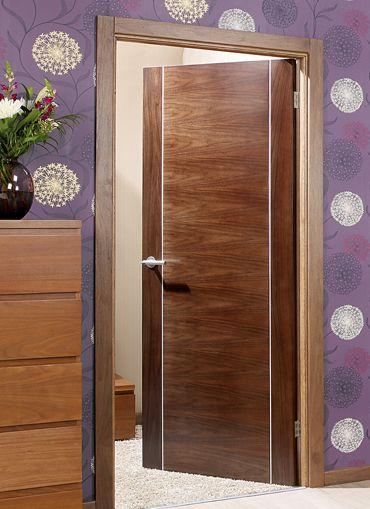 Alcaraz Walnut Internal Door Puertas Pinterest Internal Doors