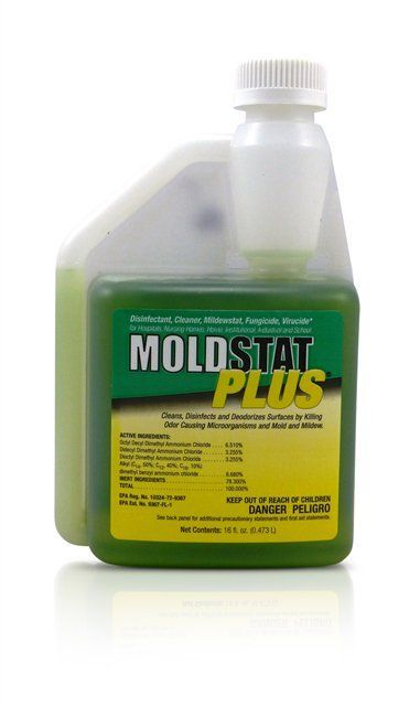 EPA Registered Mildew And Mold Killer MoldSTAT Plus Use As Part - Bathroom mold killer