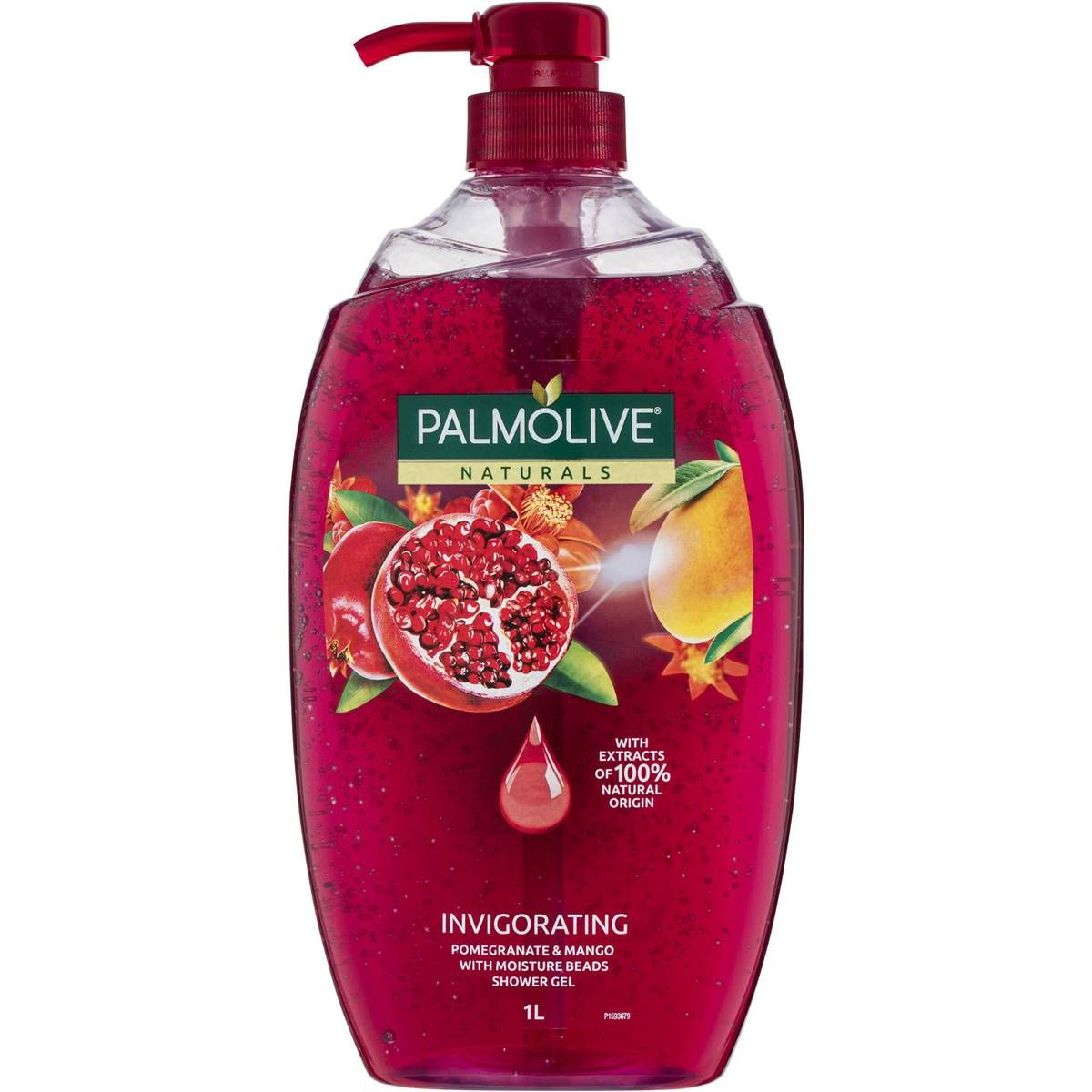 Palmolive Naturals Invigorating Shower Gel Pomegranate Mango