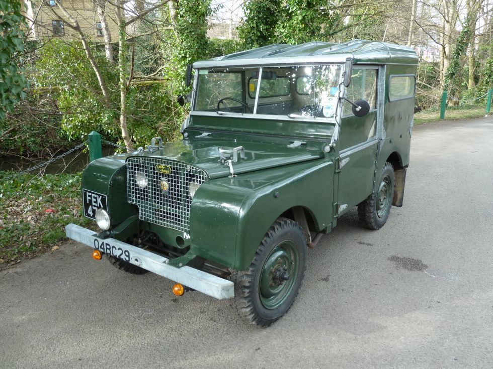 """FEK 479 1949 Land Rover Series I 80"""" This is where"""