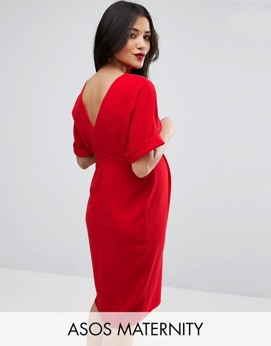 Asos maternity smart dress red products pinterest asos maternity smart dress red ombrellifo Choice Image