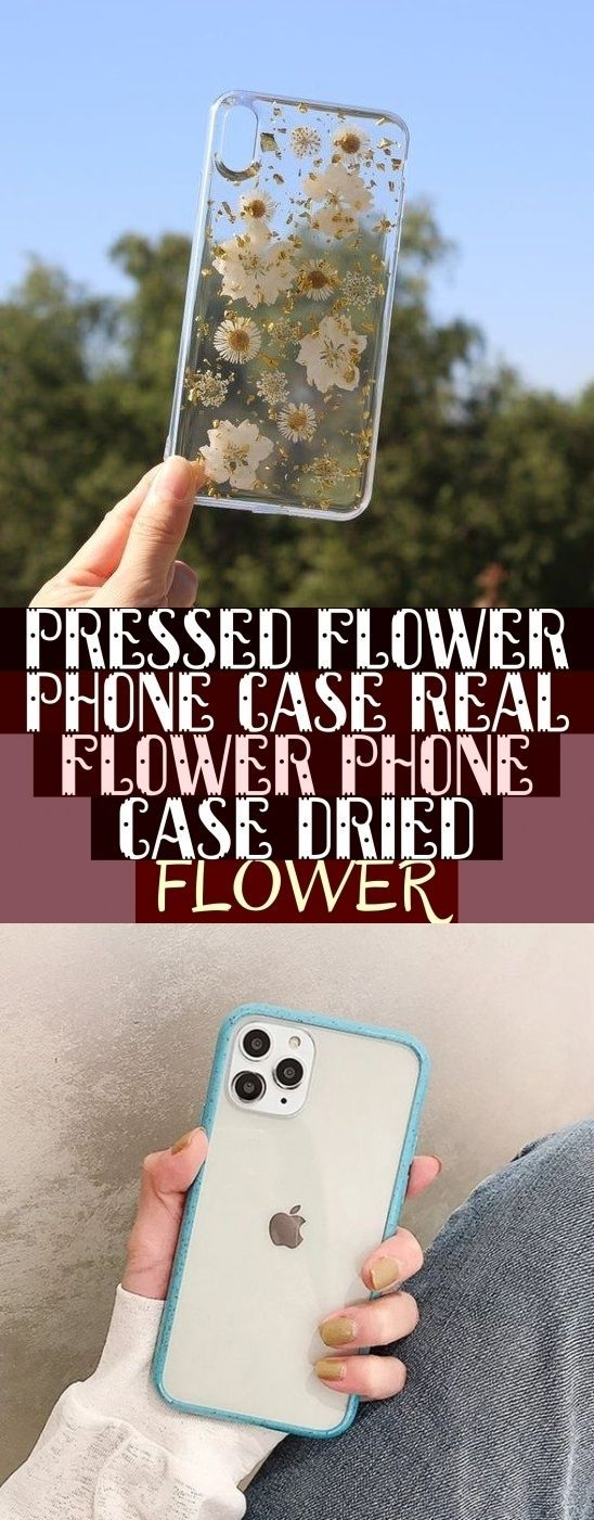 Pressed Flower Phone Case Real Flower Phone Case Dried Flower & gepresste blume …