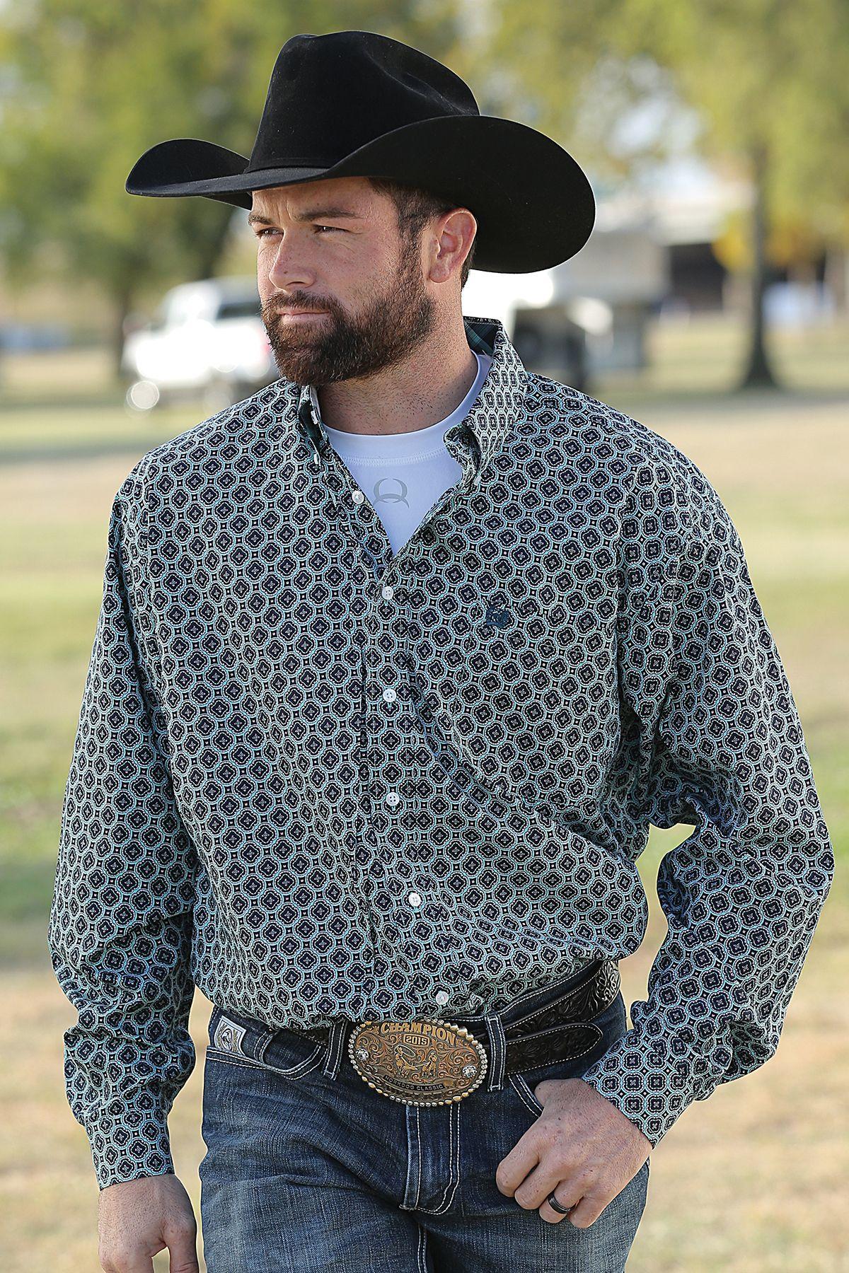 Cinch Button Down  Cinch Shirts from Wheelersfeed.com  Cowboy