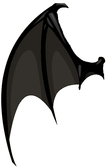 Kisekae 2 Prop Dragon Like Wing Left By Zebuta D7jx6ru Png 385 589 Dragon Wings Dragon Wings