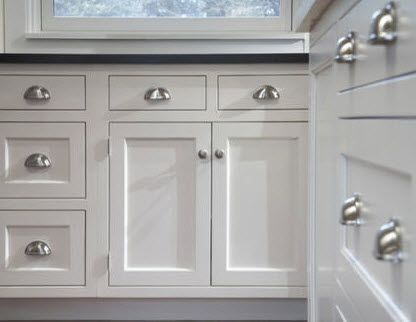 Kitchen cabinet inspiration shaker cabinets kitchens and drawers - Shaker kitchen cabinet hardware ...