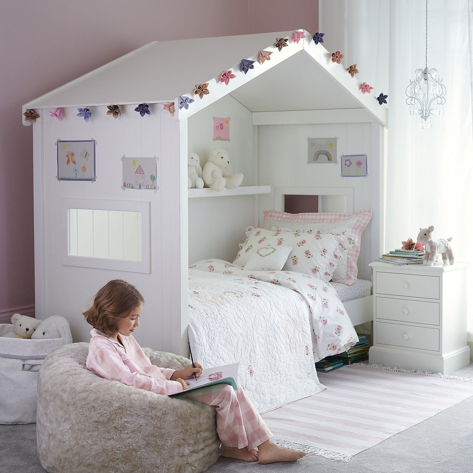Classic House Day Bed Beds The White Company Childrens