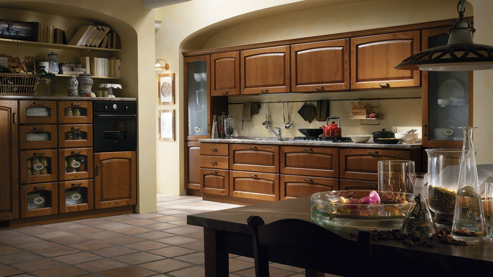 Cucina Madeleine Scavolini | Kitchen | Kitchen, Italian home, Rustic ...
