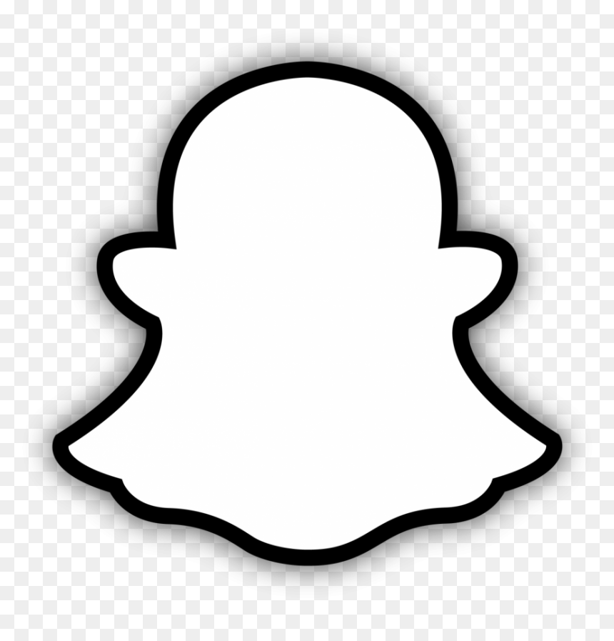 Https Www Vhv Rs Dpng D 404 4047867 Snapchat Logo Black And White Hd Png Download Png Snapchat Logo Instagram Logo Snapchat