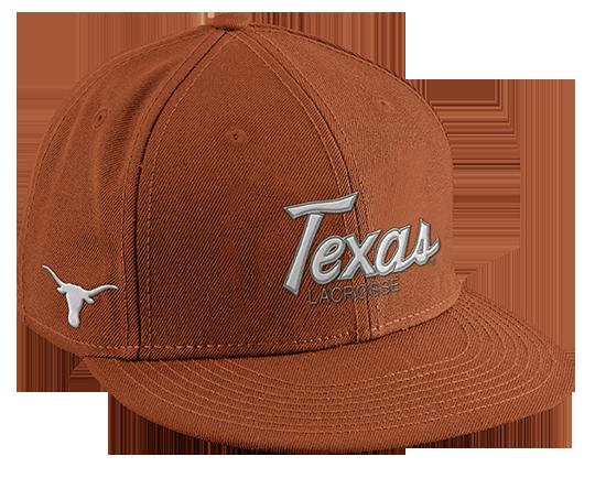 watch 98489 6e29e Nike Lacrosse SnapBack Lacrosse Hat - University of Texas Long Horns