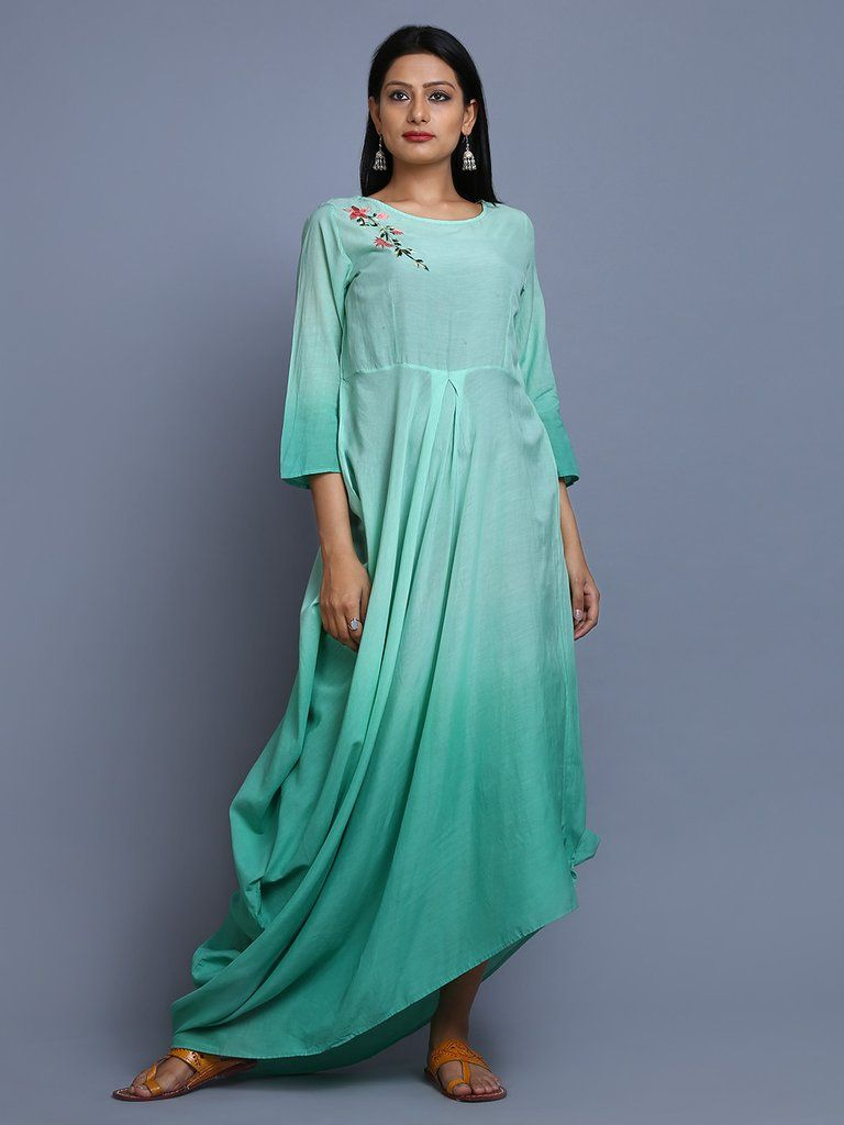 Turquoise Ombre Cotton Embroidered Cowl Dress | Just "|768|1024|?|en|2|0e23310aa9660a5eb5a8ffa7bfd19e21|False|UNLIKELY|0.33870166540145874