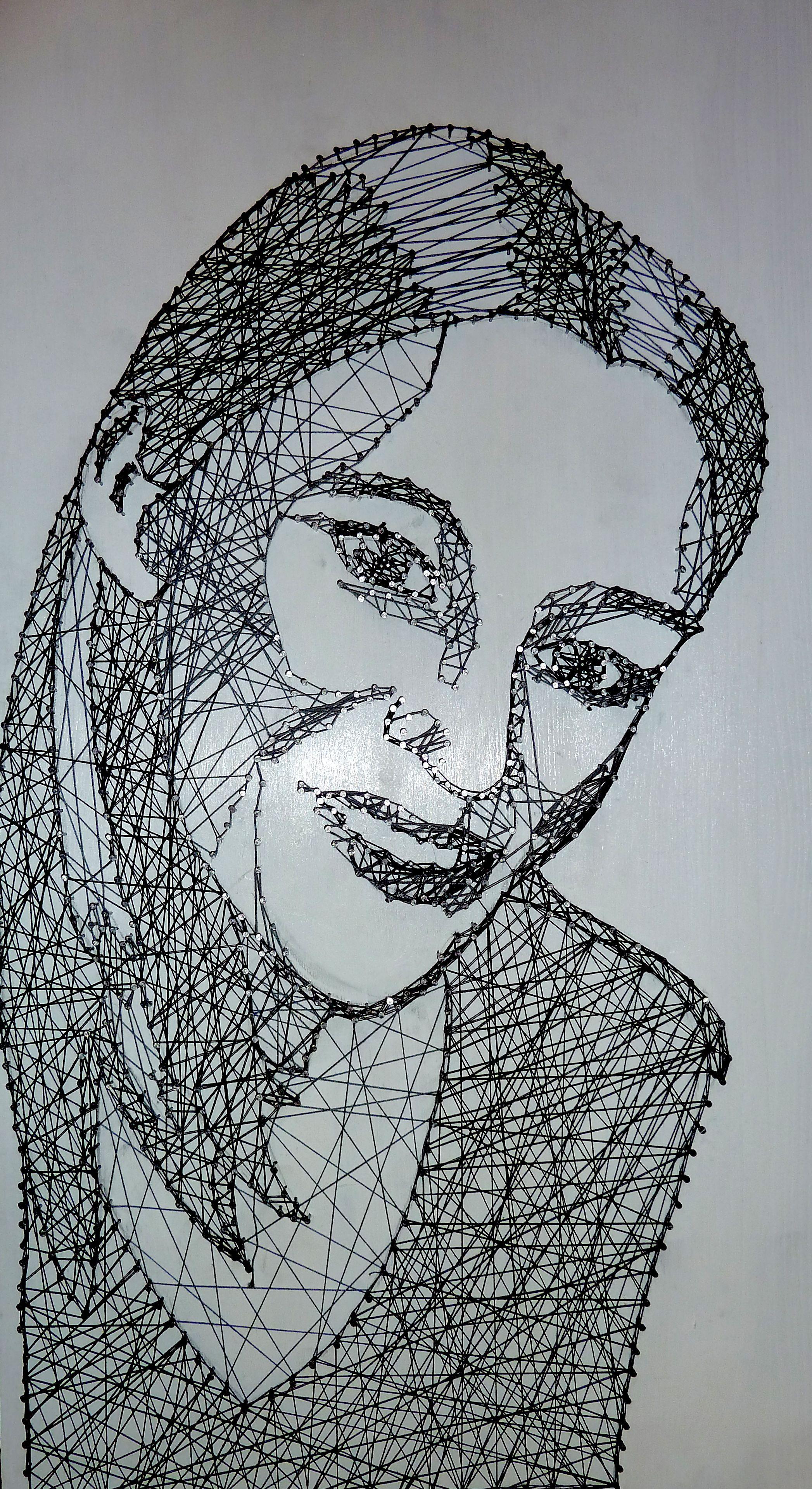 nagel portrait barbara dein handgefertigt und pers nlich handmade portrait