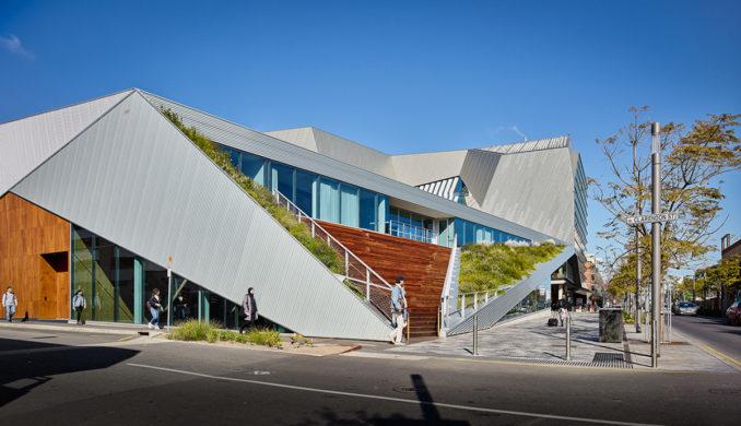 Pridham Hall Adelaide Australia Jpe Design Studio Snohetta Architecture West Campus Landscape Architecture