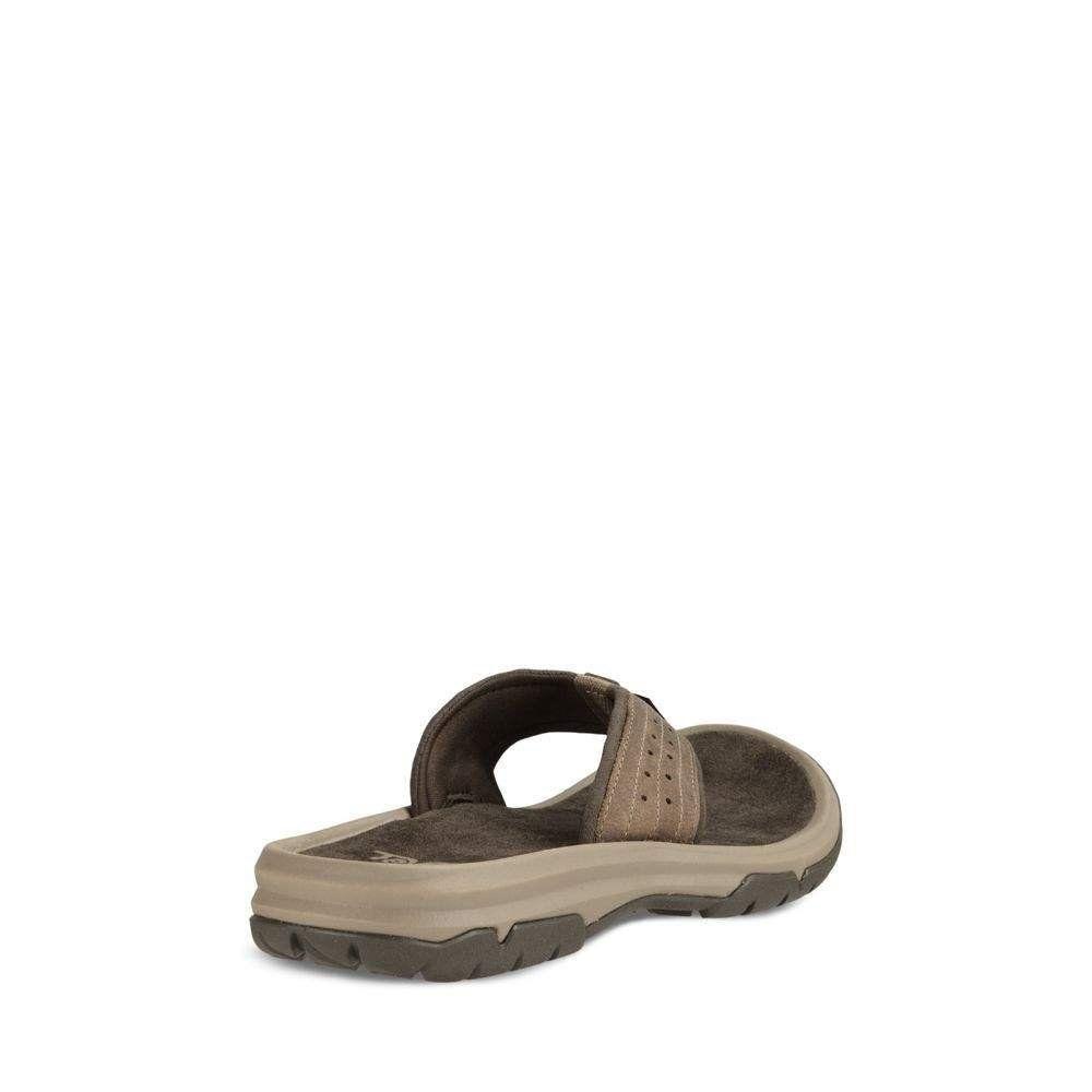 5ca43e275ef5fd Teva Mens M Langdon Flip Sandal Walnut 10 M US     Click on the ...