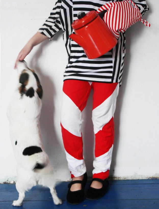 stripes, oh boy, the stripes.