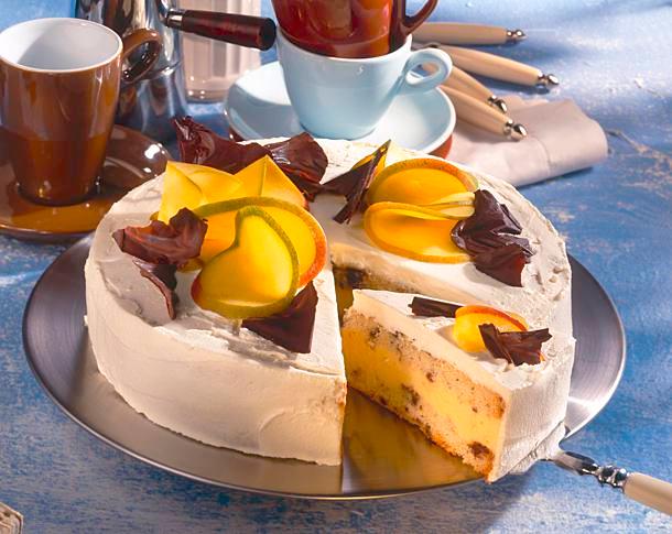 Mango Torte Mit Schoko Biskuit Und Sektcreme Rezept In 2020 Schoko Biskuit Lecker Und Lebensmittel Essen