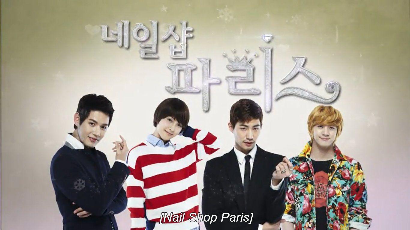 Nail Salon Paris Park Gyu Ri As Bunny Jun Ji Hoo Alex