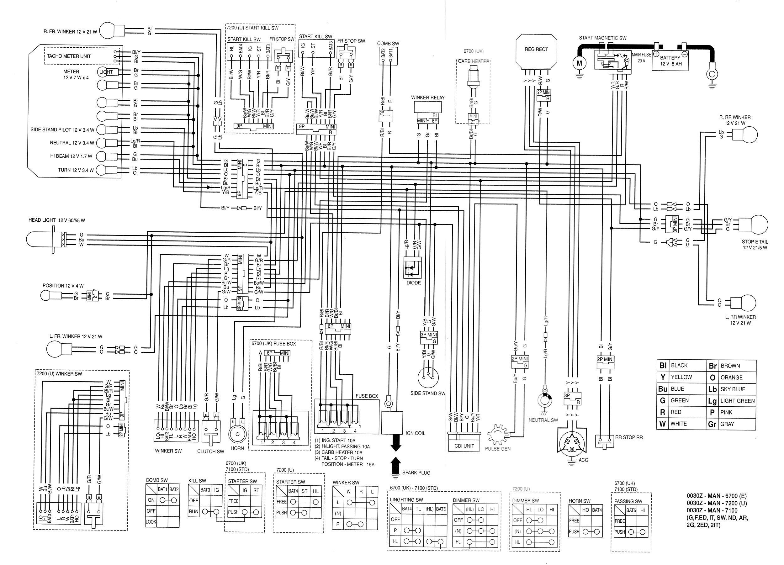 Kenwood Kdc248U Wiring Diagram from i.pinimg.com