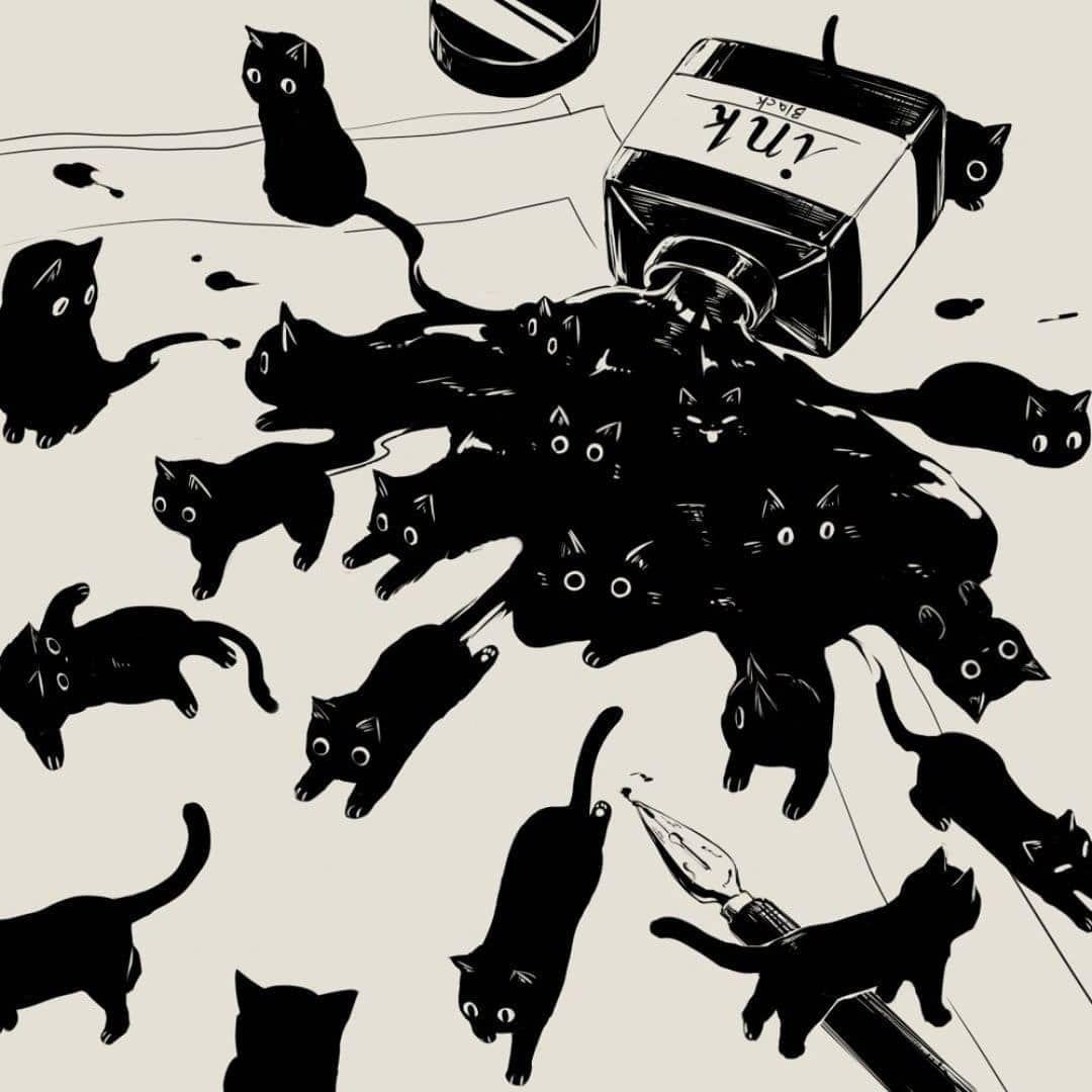 Pin By Misty Smith On Neat Stuff Cat Art Animal Art Art Inspiration
