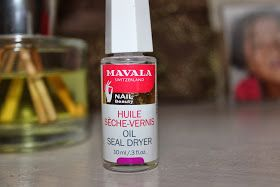 Lipsticks and Tea Cups: Review: Mavala Oil Seal Dryer