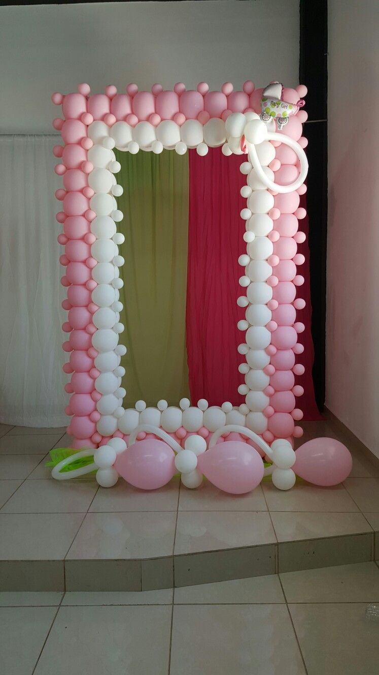 Marcos Baby Shower Balloon Decorations Baby Shower Balloons