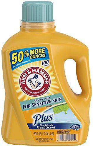 Arm Hammer Liquid Laundry Detergent Sensitive Skin Plus 150