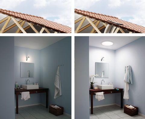 Les puits de lumière \u2013 Comment installer un puit de lumière House - comment peindre le plafond