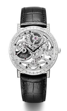#BlackandSilver Men's #Piaget Mechanical Watch