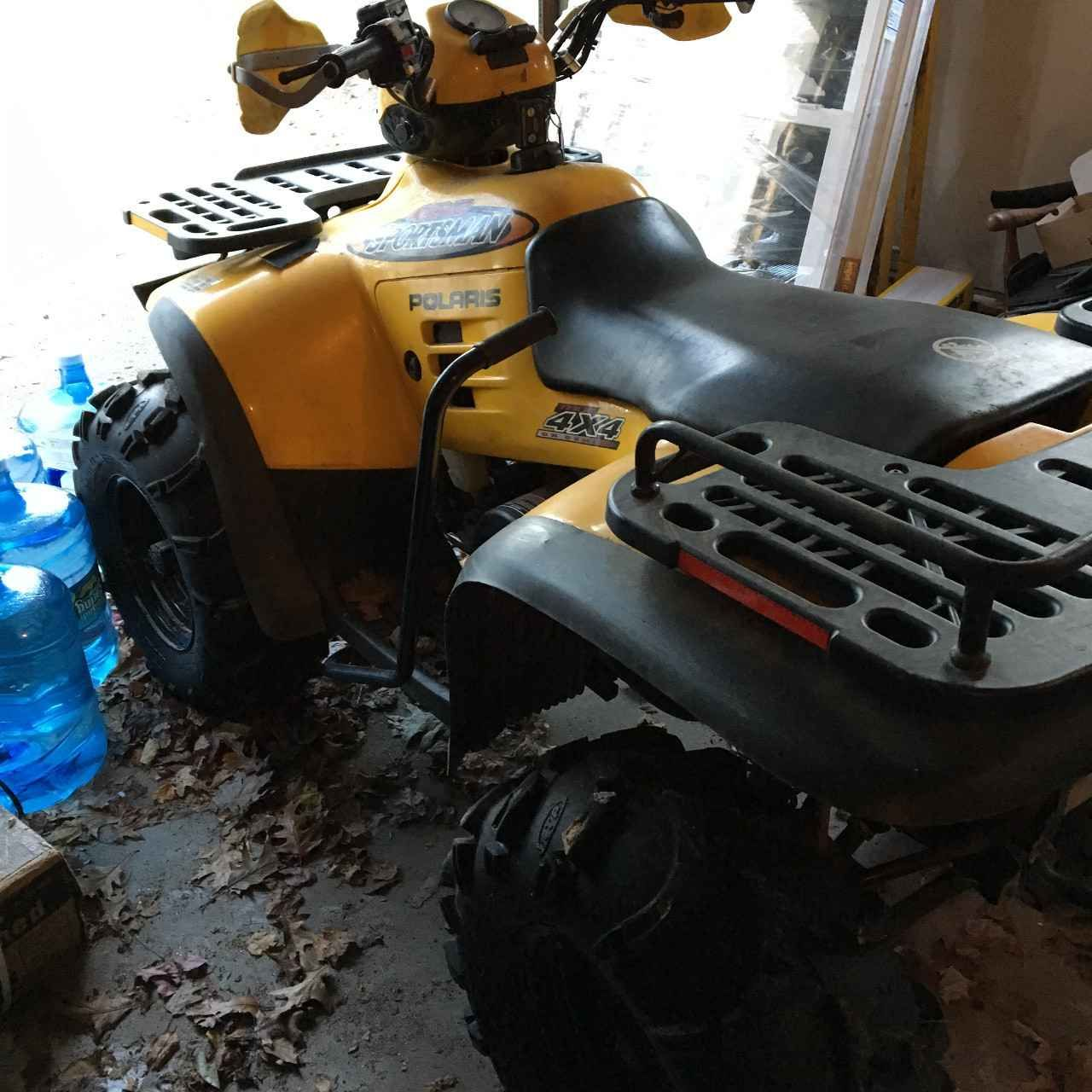 Used 2001 polaris sportsman 400 atvs for sale in connecticut this used 2001 polaris sportsman 400 atvs for sale in connecticut this is a yellow and black 2001 polaris 4x4 sportsman 400 second owners selling due to fandeluxe Gallery
