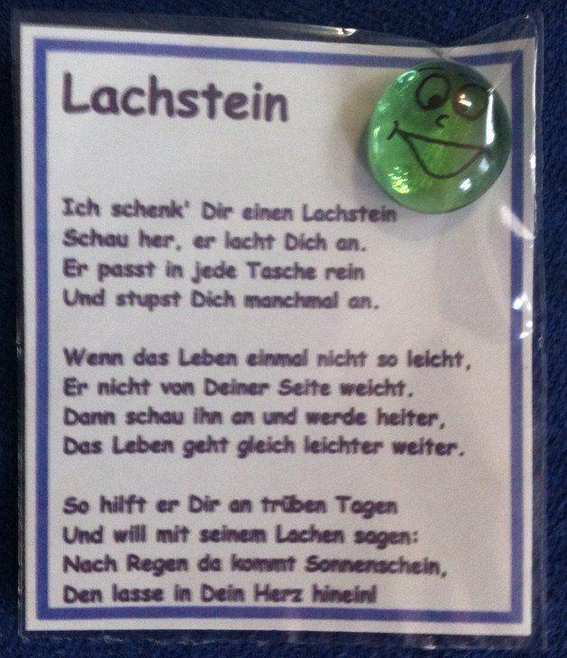 Gastgeschenk Lachstein Mit Spruch In Folie Tutchen Eingeschweisst
