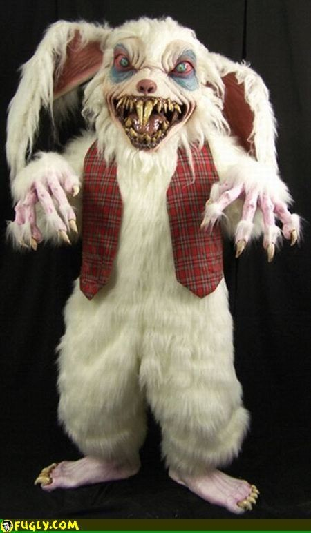 Scary Easter Bunny Photo Album - The Miracle of Easter