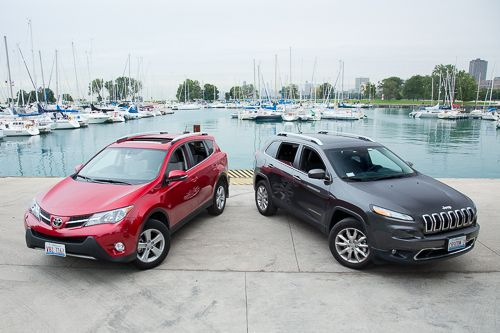 2014 Jeep Cherokee Versus 2014 Toyota Rav4 With Images Jeep