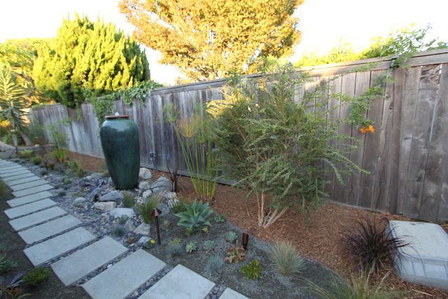 Mid Century Modern Backyard Ideas | Side yard ideas.mid-century modern landscape design