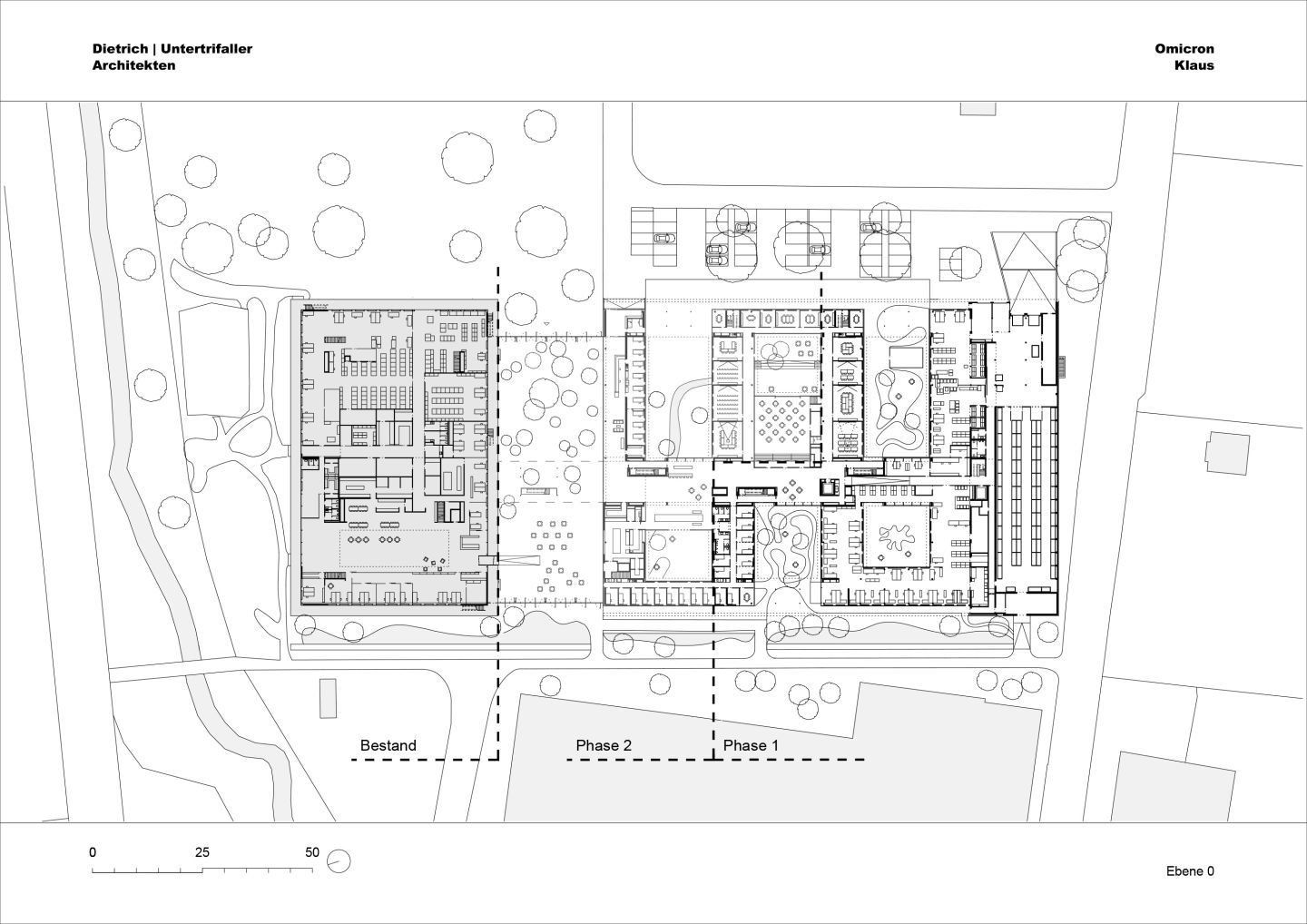 Dietrich I Untertrifaller Architekten Omicron Campus Divisare Omicron Detailed Plans How To Plan