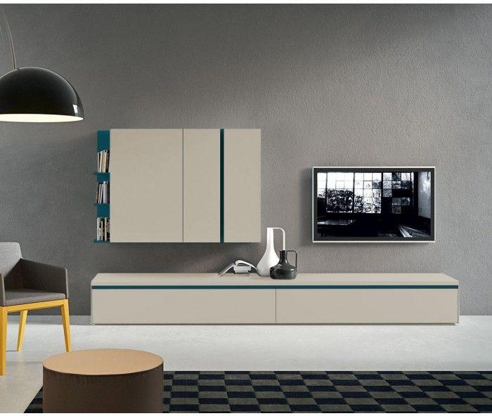 Novamobili TV Wohnwand About 7   Wohnraum