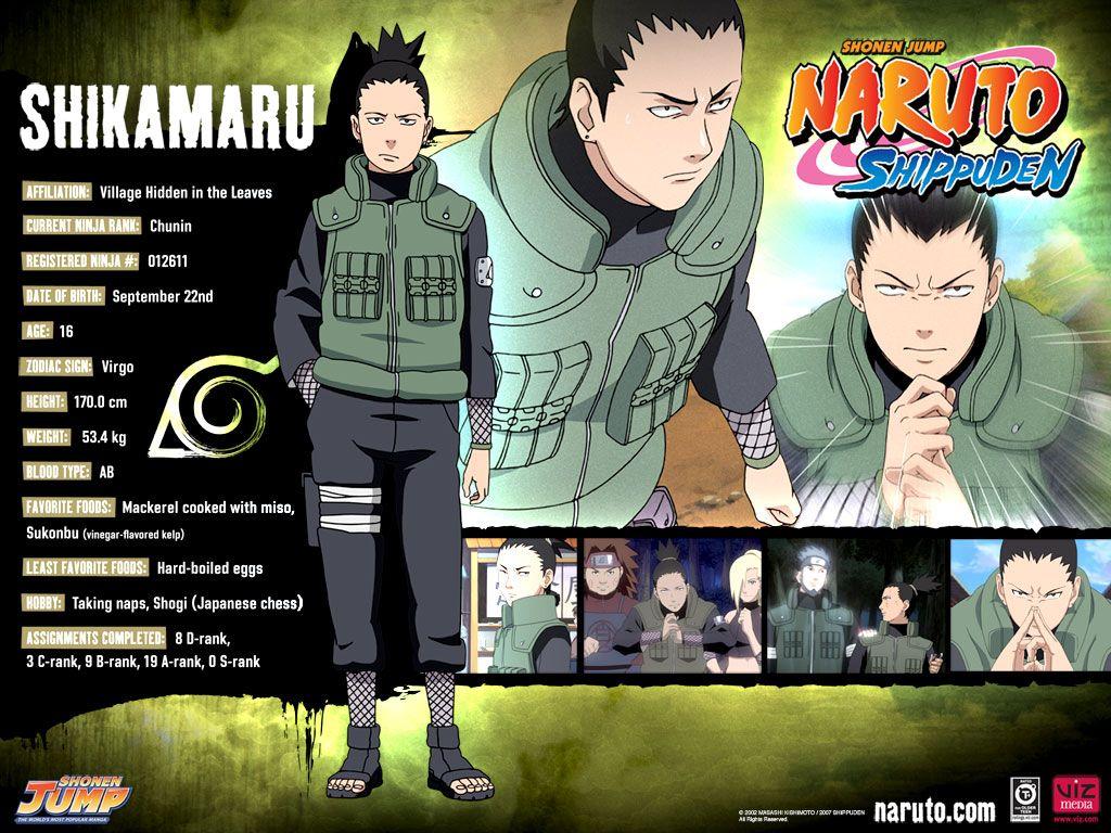 Naruto Shippuden - Shikamaru.