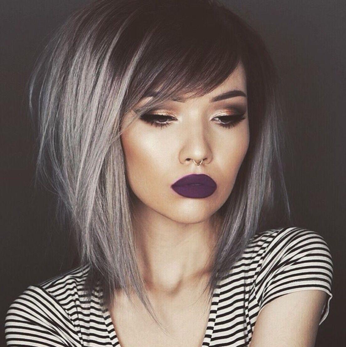 Side Fringe Hair Styles Bob Hair Color Hair Lengths