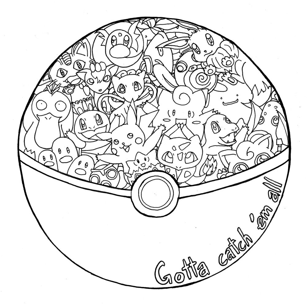 Pokemon happy birthday coloring pages - 20th Birthday Pokemon Fanart Happy