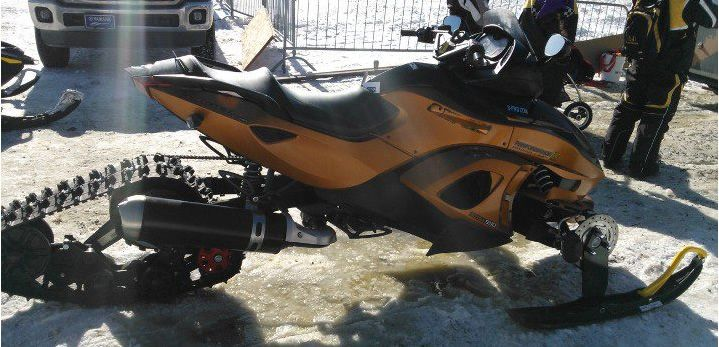 2014 Ski-Doo Snowmobile. No, the picture above is not a secret 2014 snowmobile but it does look