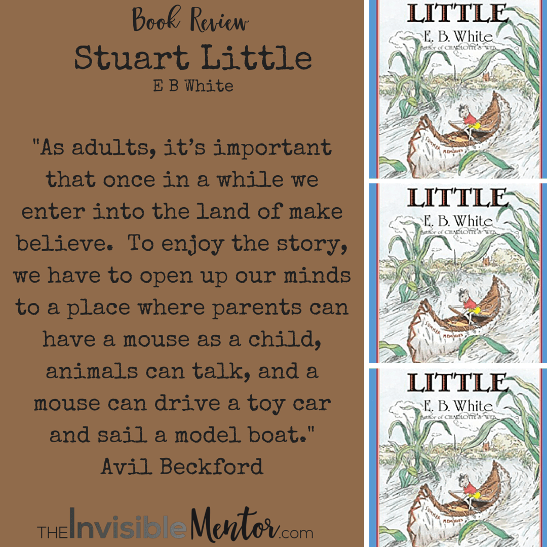Stuart Little By E B White A Book Review