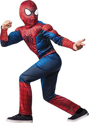 Rubies Deluxe SpiderMan Kids Costume Medium  sc 1 st  Pinterest & Rubies Deluxe SpiderMan Kids Costume Medium | Children Costume ...