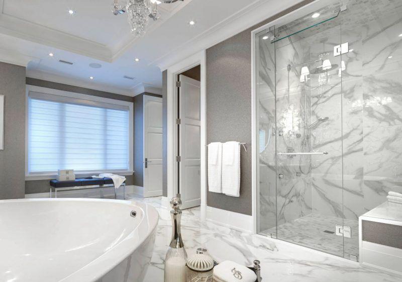 30 Modern Farmhouse Bathroom Decor Ideas Bathroom Remodel Master Farmhouse Master Bathroom Modern Farmhouse Bathroom
