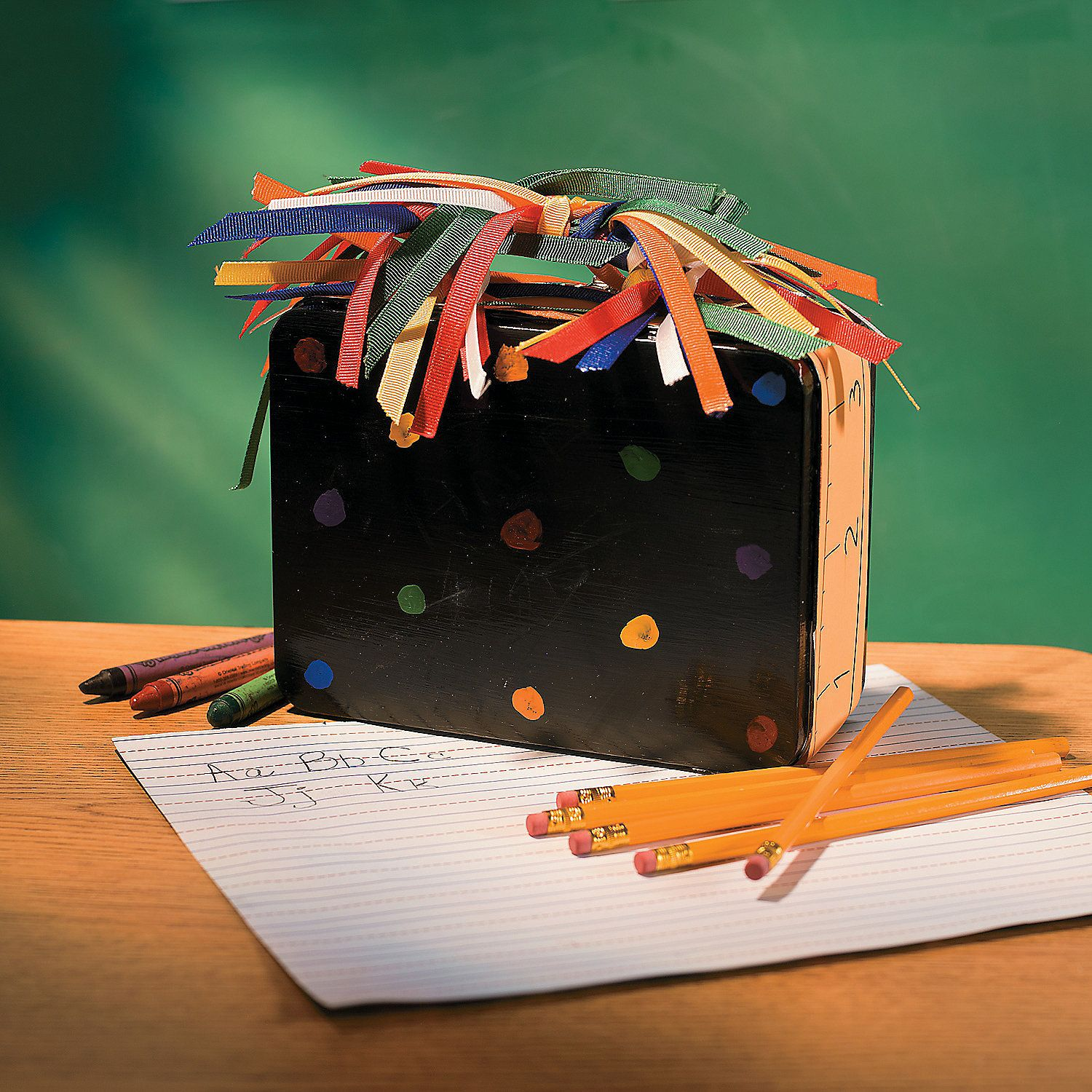 Chalkboard Lunchbox Project Idea Paper craft projects