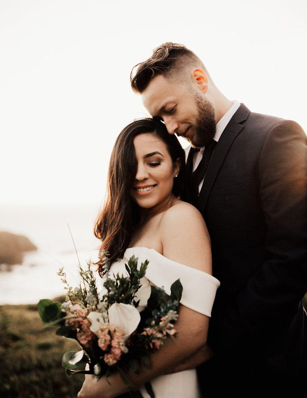 Northern california redwoods elopement wedding elope
