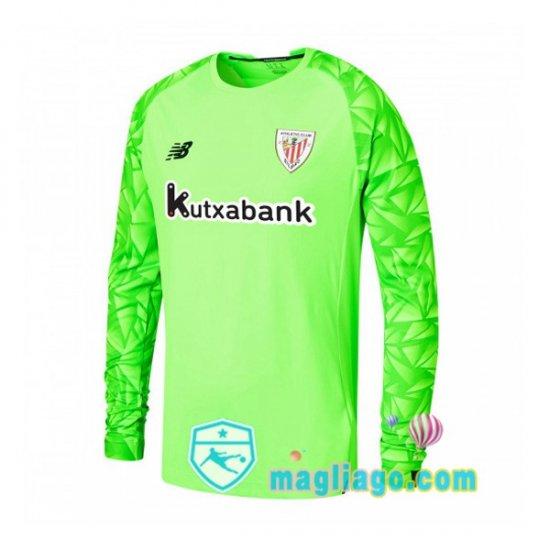 Maglia Athletic Bilbao Portiere Maniche Lunghe Verde 2020/2021 ...
