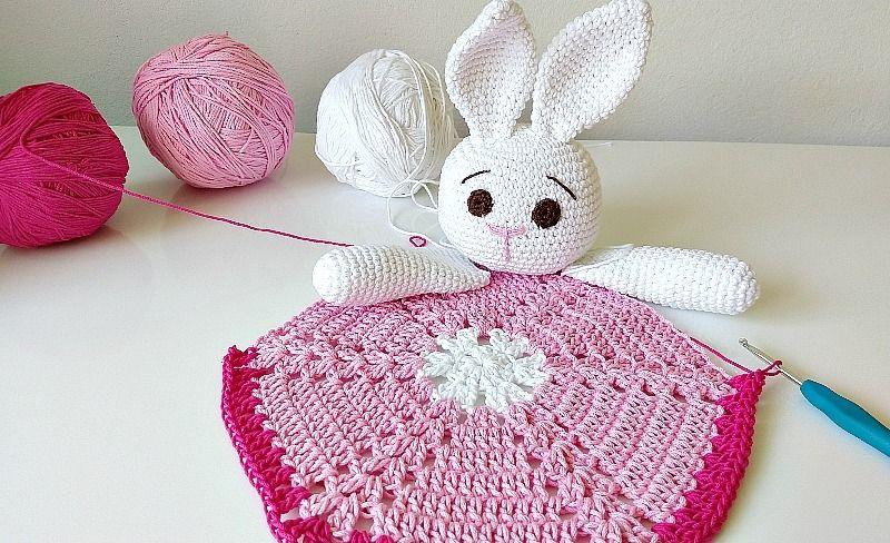 Manta de apego a crochet Handwork Diy en 2020 | Mantas de