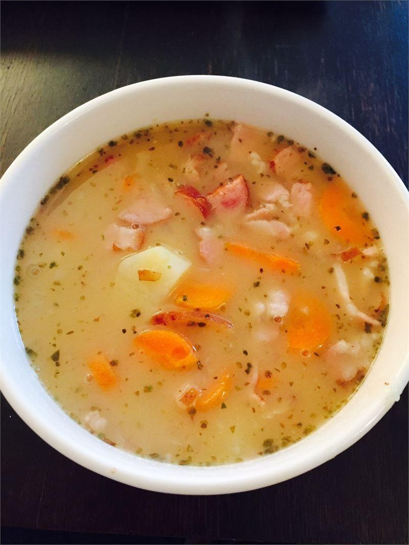 Grochowa Domowa Recipe Soup Pinterest Zupy Zupa Grochowa