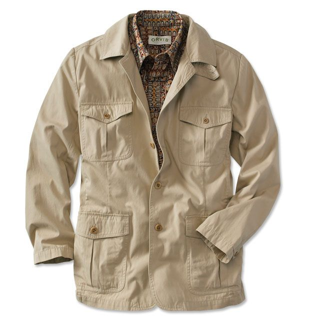 Just Found This Travel Jacket For Men Bush Poplin
